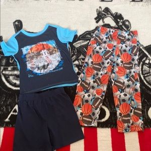 TCP Boys 3 pc pajama set sz 4T EUC